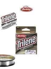 Berkley Trilene 100% Fluorocarbon Leader 50m**All Sizes**Trout Salmon Tippet