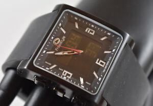 RARE! Freestyle Men's FS54001 Blackout Digital Analog Watch NEW BATTERIES!