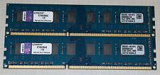 Kingston 8GB (2X4GB) PC3 10600 DDR3 1333 NON-ECC DESKTOP MEMORY