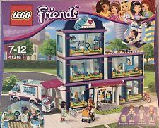 Lego Friends 41318 - Heartlake Hospital plus Ambulance and Helicopter