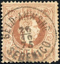 Österreich, Dalmatien, 1867, ANK-Nr. 41 I, 50 Kreuzer, gestempelt, ANK = 155 €