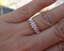 .97 ct Paramid diamond marquise wedding anniversary right-hand ring 14k YG