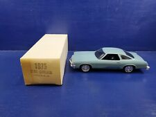 1975 Oldsmobile Cutlass Promo car Horizon Blue  New in the Box