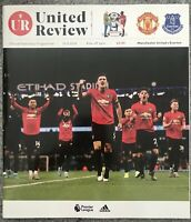 MANCHESTER UNITED V EVERTON 2019/20