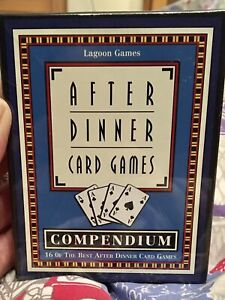 After Dinner Card Games Compendium. 16 Classic Games. Lagoon Games. New & sealed