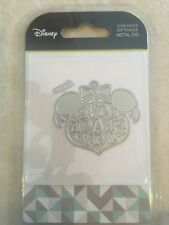 Disney love Peace Joy Plaque  Metal Die Character World cutting dies DUS0116 NEW