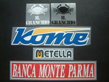 SPONSORS UFFICIALI PARMA HOME/AWAY/3RD 2007-2009 OFFICIAL SPONSORS