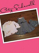 Gymboree CITY SIDEWALK 3 Piece Dress Set 12-18 Months