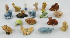 18 X VINTAGE SMALL WADE ORNAMENTS / FIGURINES / ANIMALS / SEA LIFE / INSECT LOT1
