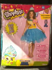 Shopkins Cupcake Queen Girl's Halloween Costume DRESS ONLY 4-6X Small #N146 New