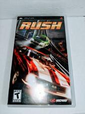 Rush - Sony PSP Midway Entertainment Video Game Teen Untested