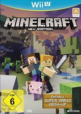 Nintendo Wii U Game Minecraft Super Mario Mashup DLC Ger Boxed