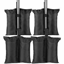 MVPower Gazebo Weight bags 4 Pack, Sand Leg Weights, Double-Stitched Weight Bags