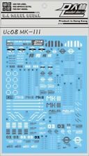 US UC08 MG RE 1/100 MK3 MKIII MK III Gundam Gunpla D.L Dalin Waterslide decal