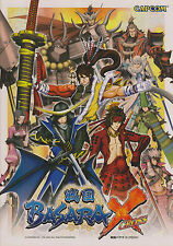 2007 CAPCOM BASARA X CROSS VIDEO FLYER