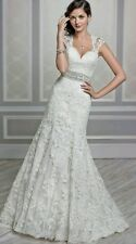 Private label Kenneth Winston Collection Style #1598 Ivory Size 10