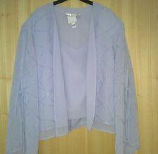 Ladies 3 piece suit pale lavendar by Joseph Ribkoff size small 20