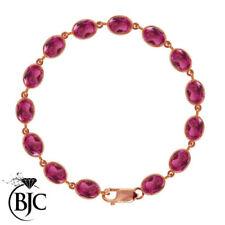 Pulseras de joyería con gemas brazaletes topacio