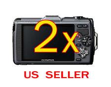 2x Olympus Tough TG-1 Digital Camera LCD Screen Protector Guard Shield Film