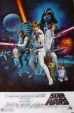 Poster A3 Star Wars Episodio IV / La Guerra De Las Galaxias Cartel 01