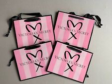 Victoria's Secret Heart Gift Bags Size Small New x 4 LAST ONE