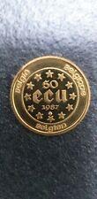 PIECE 50 ECU OR 1987