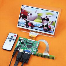 "HDMI VGA 2AV+Control Driver Board+7"" Inch TFT Monitor AT070TN92 For Raspberry Pi"