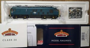 Bachmann 32-425DS BR Class 24 035 Blue factory sound fitted mint boxed tested