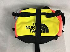 NEW NORTH FACE BASE CAMP DUFFLE TROPICAL CORAL SMALL S TRAVEL CARRY ON BAG CASE