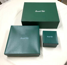 (3) Vintage Marshall Field Green Gift Boxes
