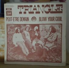 French Hard Rock Prog Pic Sleeve 45 Triangle Peut-Etre Demain VG+ HEAR