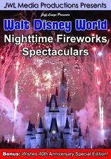 Walt Disney World Fireworks DVD Wishes 40th Version, Illuminations, July 4th NYE