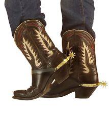 SPERONI ORO Widmann carnevale feste accessori cow-boy stivali cavallo 115 8518S