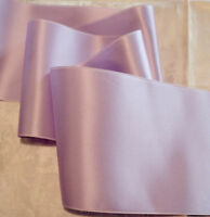 "4"" WIDE SWISS DOUBLE FACE SATIN RIBBON-  ORCHID"