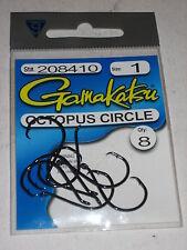 Gamakatsu Octopus Circle Hooks (#1- 8- per pack)