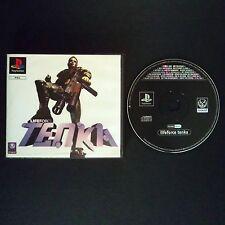 LIFEFORCE TENKA PlayStation UK PAL English・♔・BLOCKBUSTER EX RENTAL complete PS1