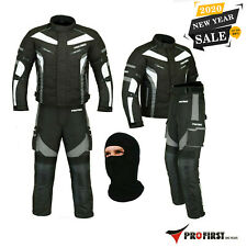 Motorcycle Waterproof Suit Motorbike Riding Suits Textile Armor Free Balaclava