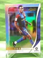 Samuel Eto'o 2019-20 Panini Chronicles  Absolute Soccer Orange #AB-3. Barcelona