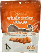 Whole Jerky for Dogs Turkey Sweet Potato Natural premium cut meat 5oz