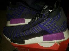 New Adidas NMD_TS1 PK Running Shoes Purple/gray BB9177 Gore-Tex Mens Size 13 new