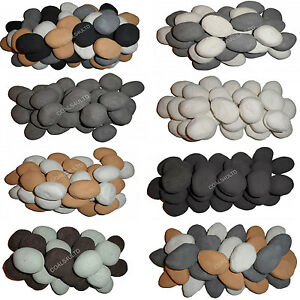 20 Gas Coals Fire Replacement Ceramic Universal Realistic Pebbles New for 20/21