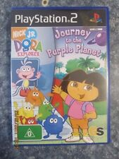 Dora the Explorer Journey to the Purple Planet - PS2 - Playstation 2