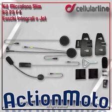 CELLULAR LINE MICROFONO INTERFONO F4 F3 CASCO INTEGRALE