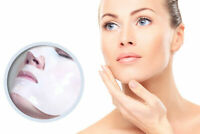 5 x Crystal Collagen Face Masks for Anti Wrinkle Ageing Firming Hyaluronic Eye