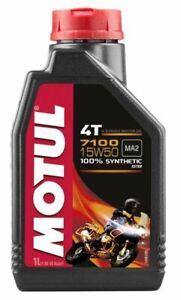 Olio Moto Motul 7100 4T 15W50 - 1 lt
