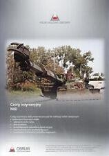 OBRUM MID 2014 PHO ARMOURED VEHICLE MILITARY BROCHURE PROSPEKT FOLDER DEPLIANT