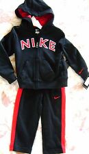 NWT NIKE BOYS ATHLETIC LIFESTYLE FLEECE 2 PIECE SET HOODIE AND PANTS  SIZE 4T