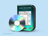 Words Office suite 2007 Full Version for PC W/ Microsoft Windows Vista, 7, 8 CD