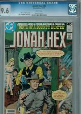 Jonah Hex #30 CGC 9.6 DC 1979 The Sheriff Gets the drop on Hex: Price Drop!