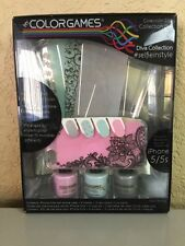 GREAT GIFT!! ColorGames Mix & Match iPhone 5/5S Diva Collection NEW IN BOX